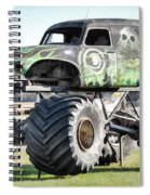 Monster Truck 4 Spiral Notebook