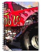 Monster Truck El Diablo Spiral Notebook