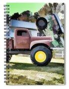 Monster Truck - Grave Digger 2 Spiral Notebook