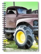 Monster Truck - Grave Digger 3 Spiral Notebook