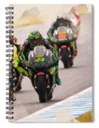 Monster Yamaha Tech 3, Spiral Notebook
