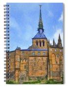 Mont Saint Michel - 2 - France Spiral Notebook