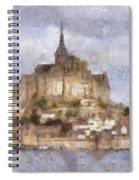 Mont Saint-michel, Normandy, France Spiral Notebook
