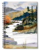 Montana Canyon Spiral Notebook