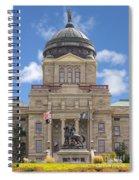Montana Capitol Building Spiral Notebook