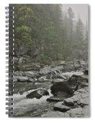 Montana Fog Spiral Notebook