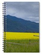 Montana Gold Spiral Notebook