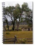 Montana Homestead Spiral Notebook