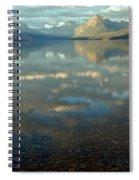 Montana Lonely Boat Spiral Notebook