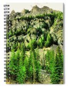 Montana Mountains In Autumn  Spiral Notebook
