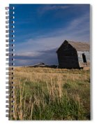 Montana Prairie Homestead Spiral Notebook