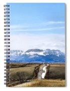 Montana Scenery One Spiral Notebook