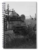 Montana Steam Farm Tractor Spiral Notebook