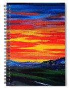 Montana Sunset Colors                     72 Spiral Notebook