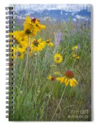 Montana Wildflowers Spiral Notebook