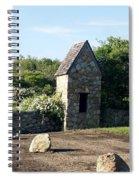 Montauk Guard House 1 Spiral Notebook