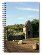 Montauk Guard House Spiral Notebook