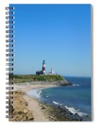 Montauk Lighthouse Spiral Notebook