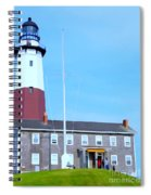 Montauk Point Light  Spiral Notebook