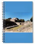 Monte Alban Ball Court Spiral Notebook