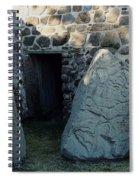 Monte Alban Danzantes Stone Spiral Notebook