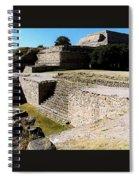 Monte Alban North Platform Spiral Notebook