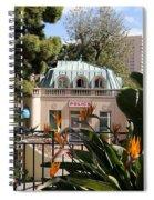 Monte Carlo 6 Spiral Notebook