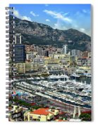 Monte Carlo Harbor View Spiral Notebook