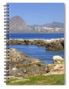 Monte Cofano - Sicily Spiral Notebook