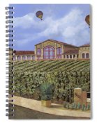 Monte De Oro And The Air Balloons Spiral Notebook