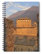 Montebello - Bellinzona, Switzerland Spiral Notebook