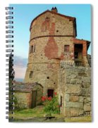 Montefollonico Stone Tower And Fortress Spiral Notebook