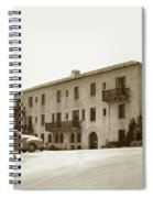 Monterey Hospital Was Built In 1930 At 576 Hartnell St, Monterey Spiral Notebook