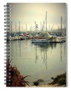Monterey Marina II Spiral Notebook
