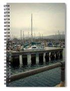 Monterey Marina Spiral Notebook