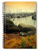 Monterey Marina Vista Spiral Notebook