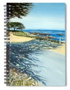 Monterey Shadows Spiral Notebook