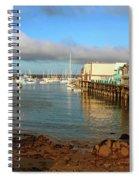 Monterey Wharf Spiral Notebook