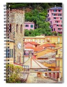 Monterosso Al Mare Cinque Terre Italy Spiral Notebook