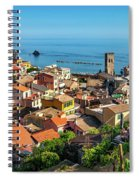 Monterosso In The Cinque Terre Spiral Notebook