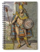 Montezuma II (1480?-1520) Spiral Notebook