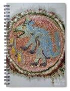 Montezuma II: Shield Spiral Notebook