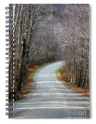 Montgomery Mountain Road Spiral Notebook