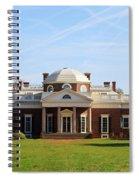 Monticello Spiral Notebook