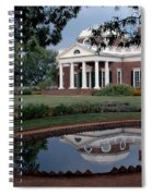 Monticello Reflections Spiral Notebook