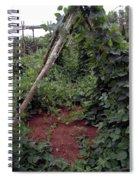 Monticello Vegetable Garden  Tee Pee Spiral Notebook