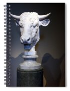 Monti's Head Of A Bull Spiral Notebook