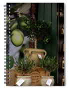 Montmarte Paris Olive Oil Spiral Notebook
