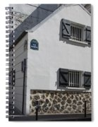 Montmarte Paris Rue Durantin Spiral Notebook