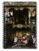 Montmartre Carousel Spiral Notebook